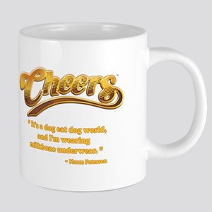 dog eat dog cheers 20 oz Ceramic Mega Mug