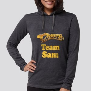 Team Sam Womens Hooded Shirt