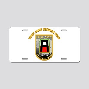 SSI - First Army Division West with Text Aluminum