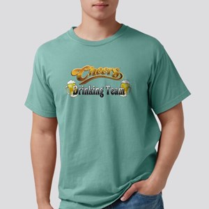 drink team Mens Comfort Colors Shirt