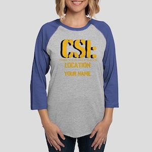 CSI Womens Baseball Tee
