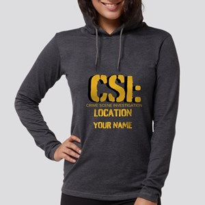 CSI Womens Hooded Shirt