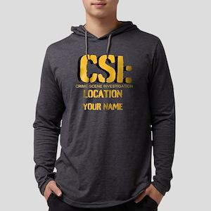 CSI Mens Hooded Shirt