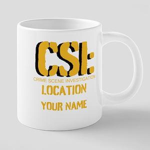 CSI 20 oz Ceramic Mega Mug