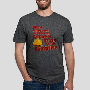 campfire fun Mens Tri-blend T-Shirt