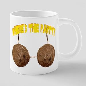 party nuts 20 oz Ceramic Mega Mug