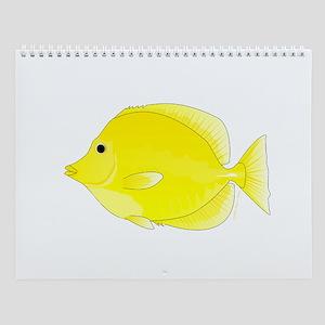 Tropical Reef Fish 2 Wall Calendar
