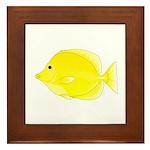 Yellow Tang Framed Tile