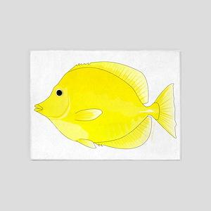 Yellow Tang 5'x7'Area Rug