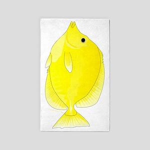 Yellow Tang 3'x5' Area Rug