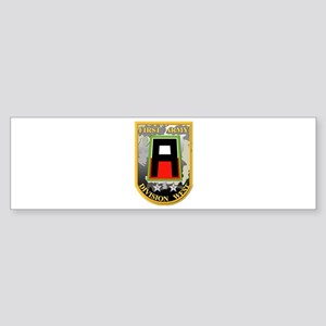 SSI - First Army Division West Sticker (Bumper)