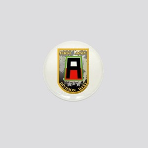 SSI - First Army Division West Mini Button
