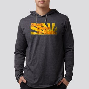 here comes the sun Mens Hooded Shirt