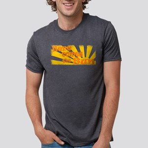 here comes the sun Mens Tri-blend T-Shirt