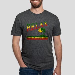 Relax Mens Tri-blend T-Shirt