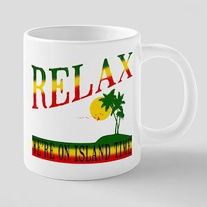 Relax 20 oz Ceramic Mega Mug