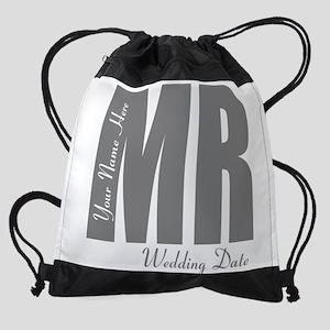 Wedding Groom Drawstring Bag