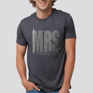 Wedding Mrs Mens Tri-blend T-Shirt