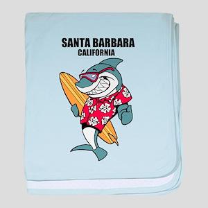 Santa Barbara, California baby blanket