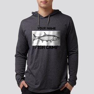 Custom Fish Camp Mens Hooded Shirt