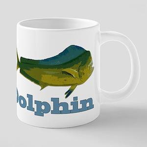 dolphin fish 20 oz Ceramic Mega Mug
