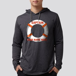 Custom Captain Mens Hooded Shirt