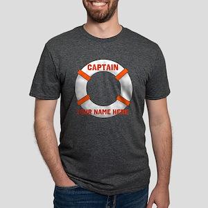 Custom Captain Mens Tri-blend T-Shirt
