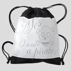 Yes I Am Drawstring Bag