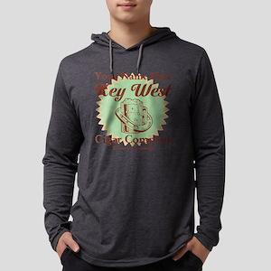 Key West Cigar Mens Hooded Shirt