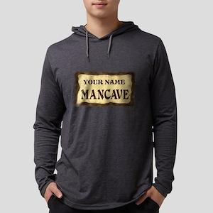 MANCAVE CUST Mens Hooded Shirt