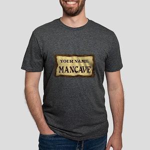 MANCAVE CUST Mens Tri-blend T-Shirt