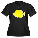 Yellow Tang c Plus Size T-Shirt