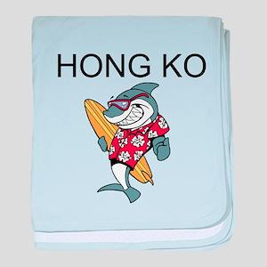 Hong Kong baby blanket