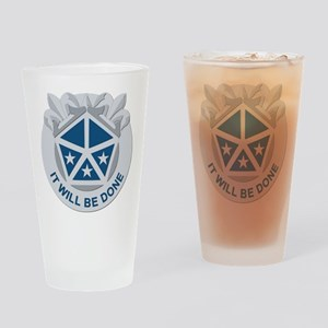 DUI - V Corps Drinking Glass
