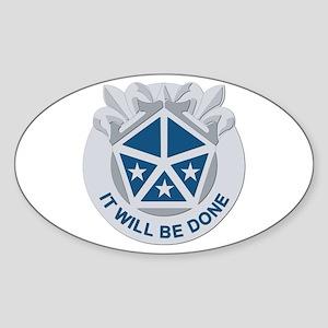 DUI - V Corps Sticker (Oval)