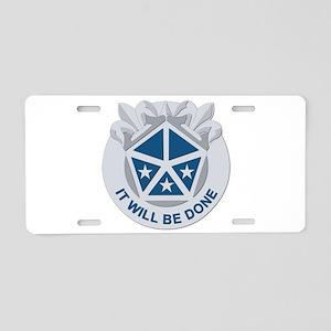 DUI - V Corps Aluminum License Plate
