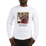 Sleeping in Church Long Sleeve T-Shirt