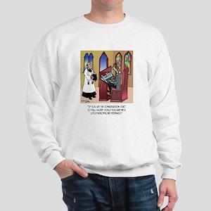 Sleeping in Church Sweatshirt