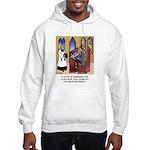 Sleeping in Church Hooded Sweatshirt