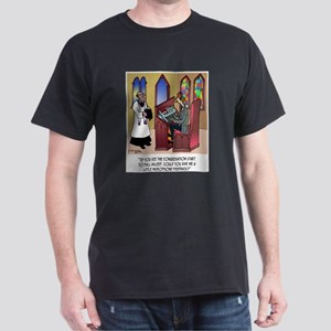 Sleeping in Church Dark T-Shirt