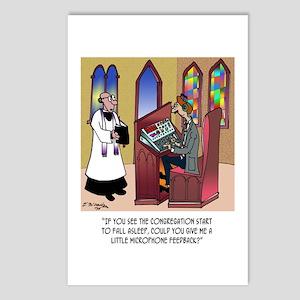 Sleeping in Church Postcards (Package of 8)