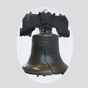 liberty bell Oval Ornament
