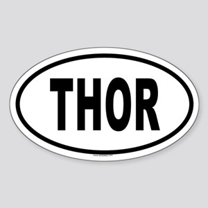 THOR Oval Sticker