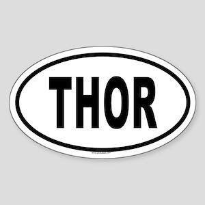 THOR Oval Sticker