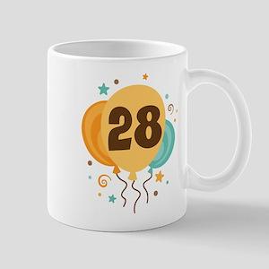 28th Birthday Party Mug