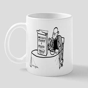 Moral Fruit and Fiber Cereal Mug