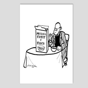 Moral Fruit and Fiber Cereal Postcards (Package of