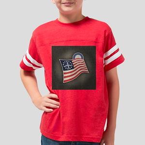 flag-obama-TIL Youth Football Shirt