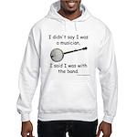 banjo - not musician Hooded Sweatshirt