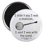 banjo - not musician Magnet